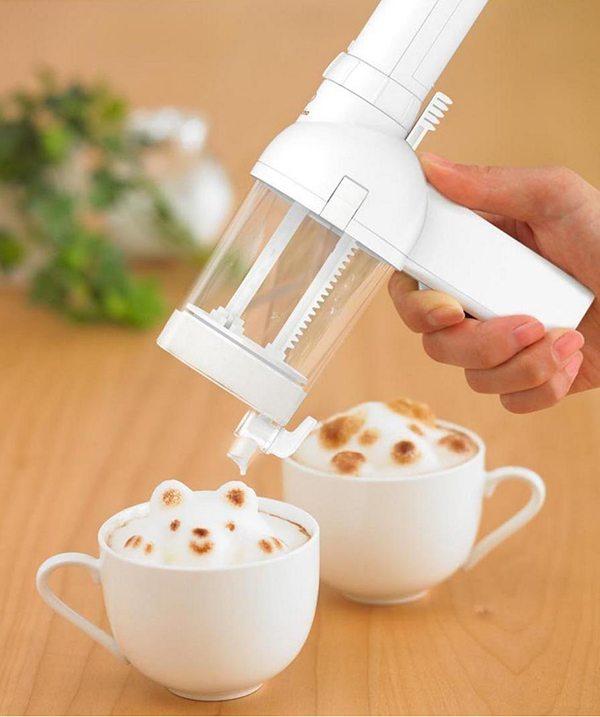 3D Latte Foam Art Maker