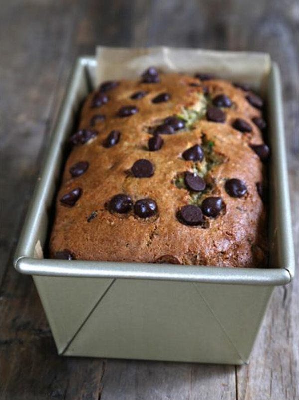 Chocolate Chip Zucchini Bread with Better Batter