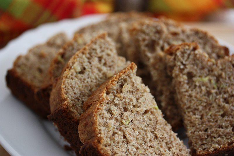 Cinnamon and Allspice Zucchini Bread