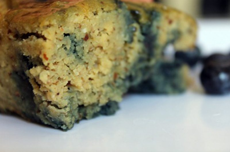 Coconut Blueberry Protein Bars