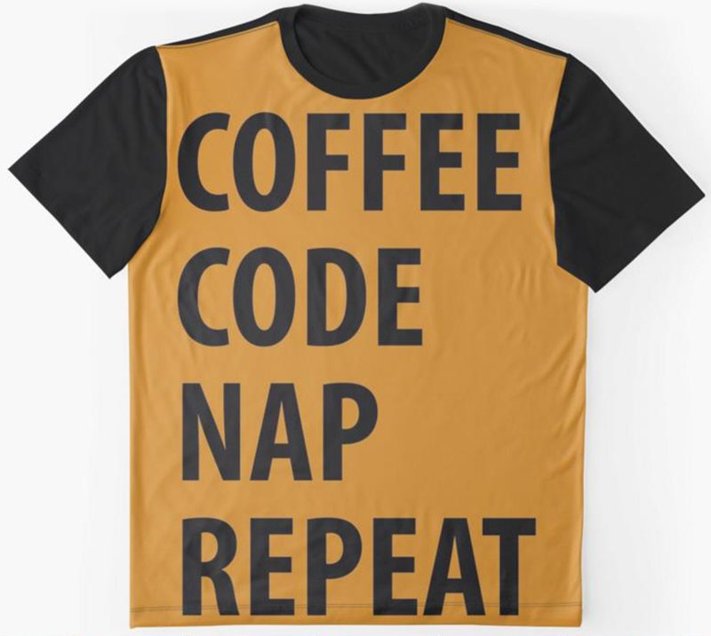 Coffee Code Nap Repeat
