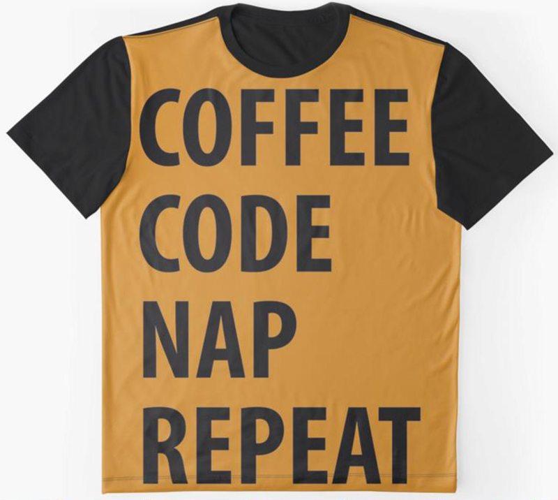 Coffee Code Nap Repeat
