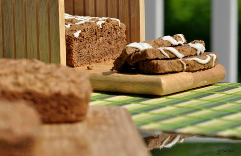 GFJules' Zucchini Bread with Flaxseed Meal