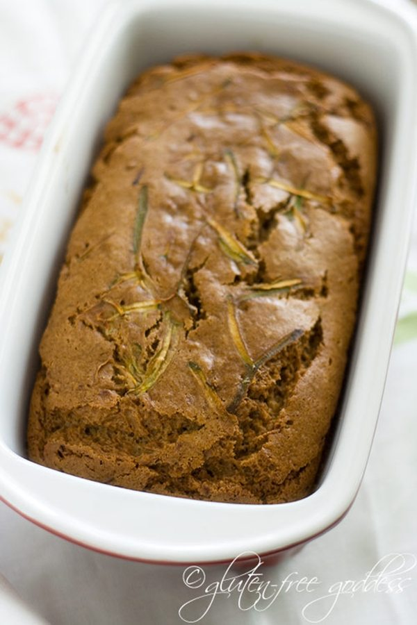 Gluten-Free Goddess' Zucchini Bread with Oat Flour