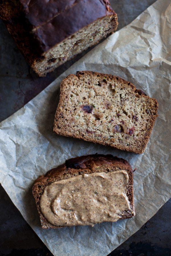 Gluten-Free Vegan Zucchini Date Bread