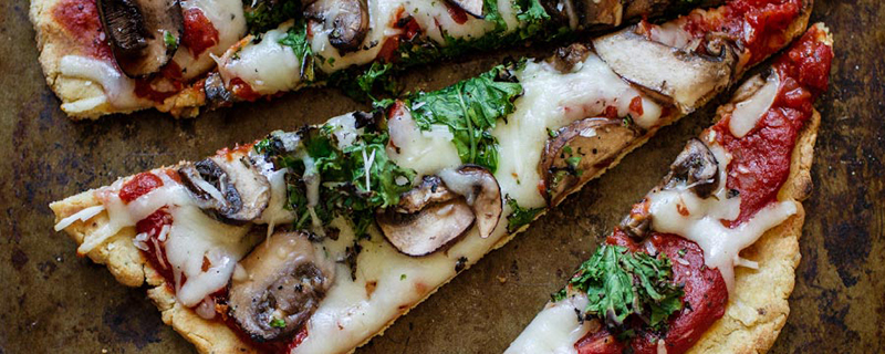 Grilled Gluten-Free Italian Herb Pizza Crust with Oat Flour
