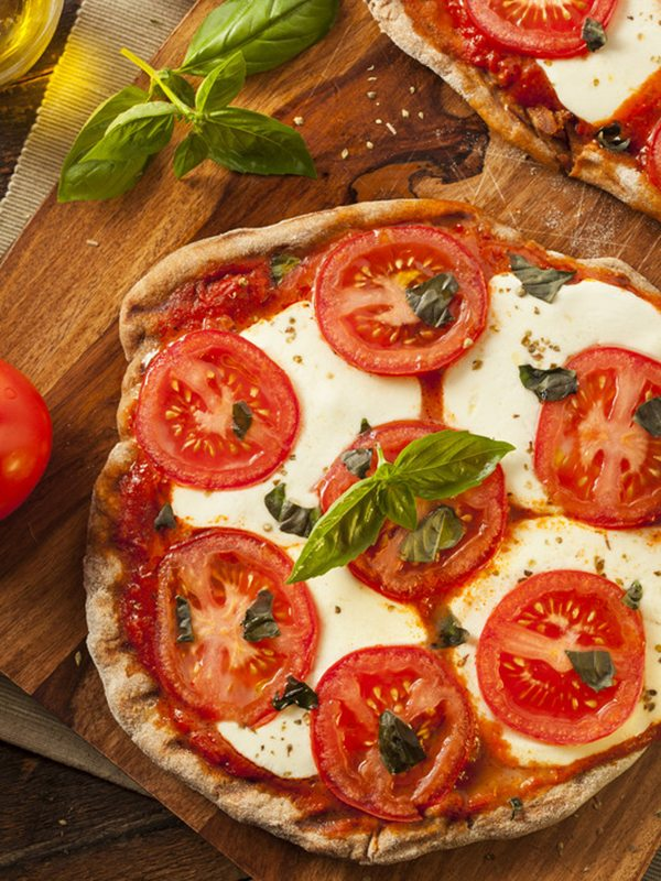 Italian-Seasoned Almond and Flax Pizza Crust