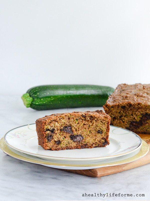 Paleo, Dairy-Free Zucchini Bread with Almond Flour