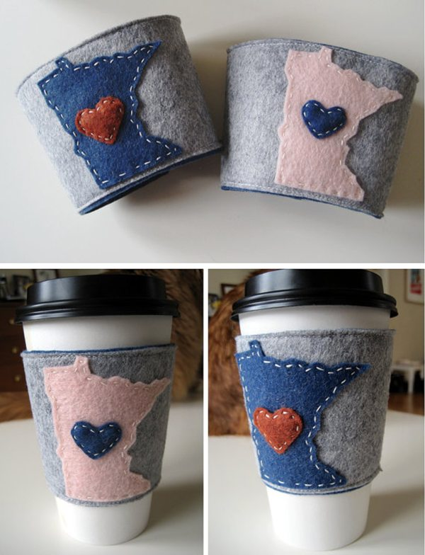 State Heart Coffee Cozy