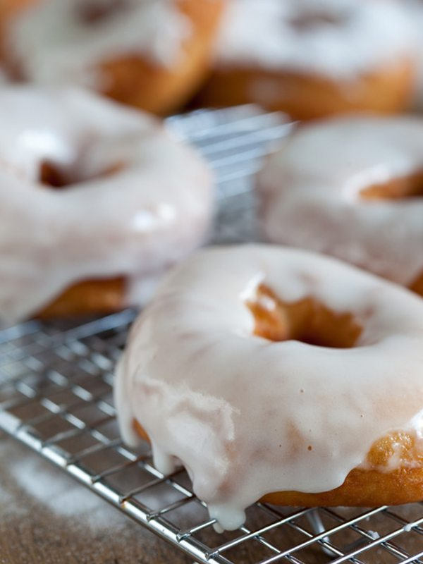 Sugar-Glazed Doughnuts