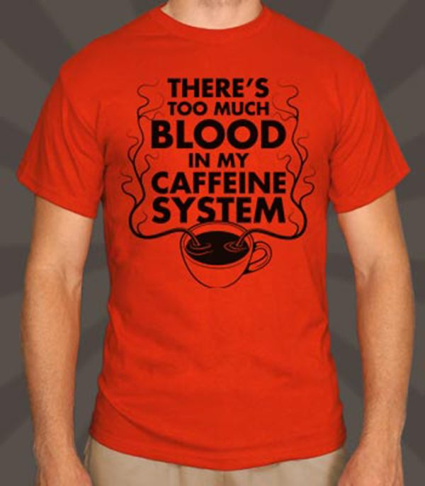 There's Too Much Blood In My Caffeine System