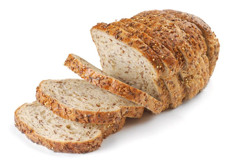 Sliced multi grain bread