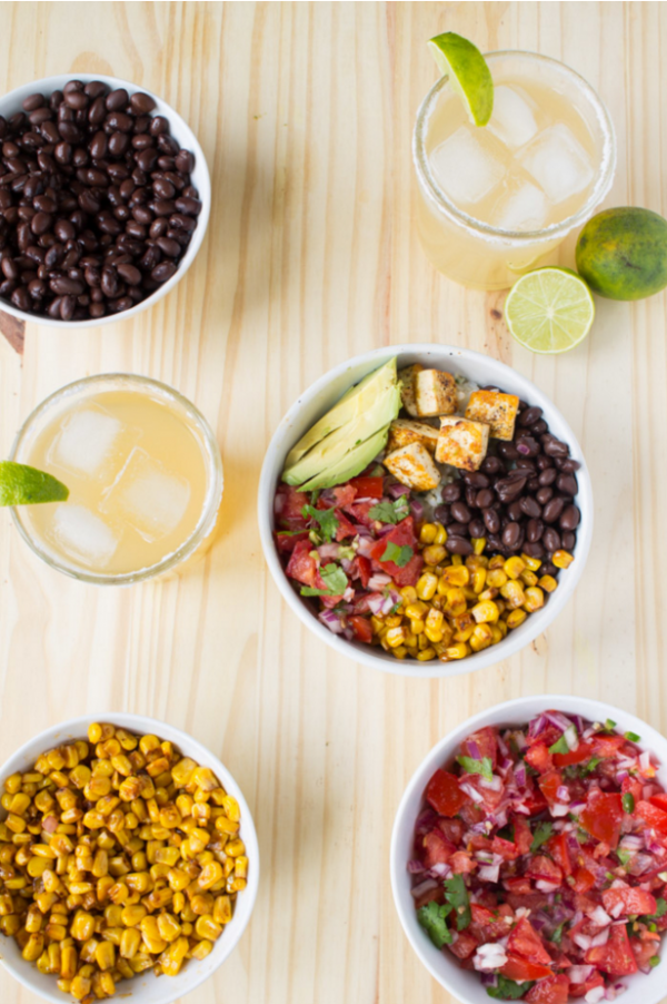 Chipotle-Inspired Vegan Burrito Bowl