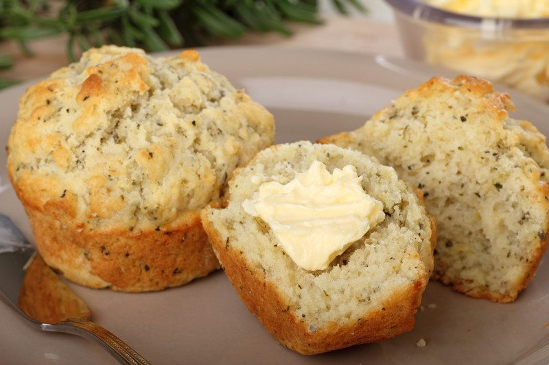 Garlic Onion Muffins