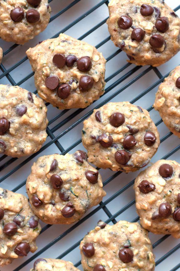 Gluten-Free Zucchini Oatmeal Cookies