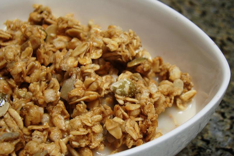 Homemade Paleo Granola Crunch