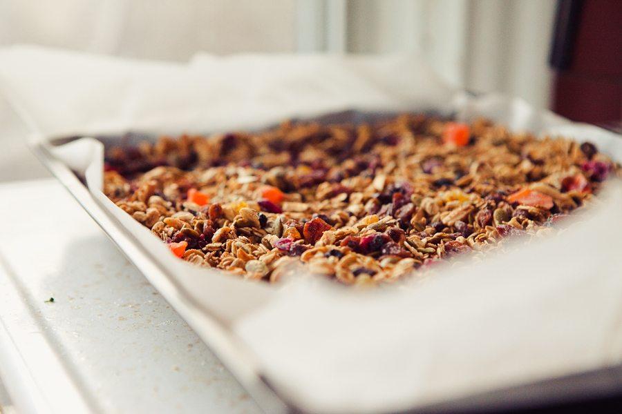 Homemade Sweet & Salty Paleo Granola