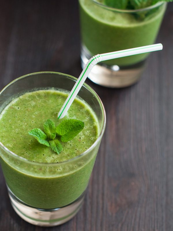 Minty Chocolate Green Smoothie