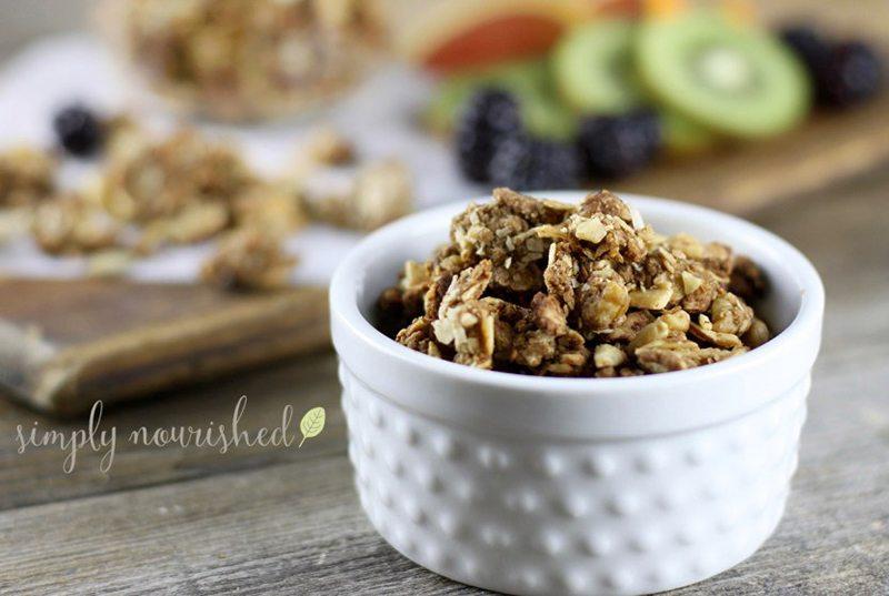 Paleo Cinnamon Crunch Granola