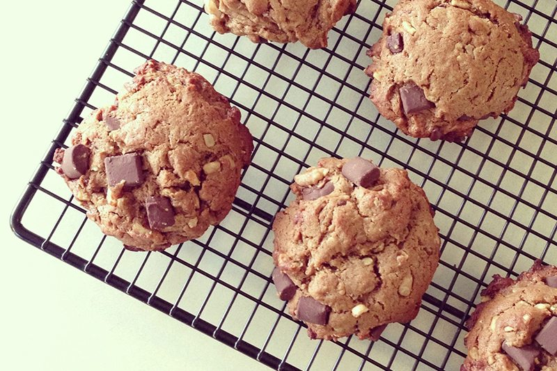 Simply Taylor's Chunky Town Chocolate Chip Cookies