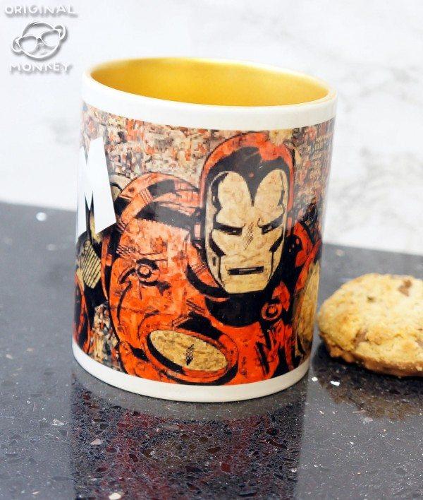 Retro Iron Man Mug