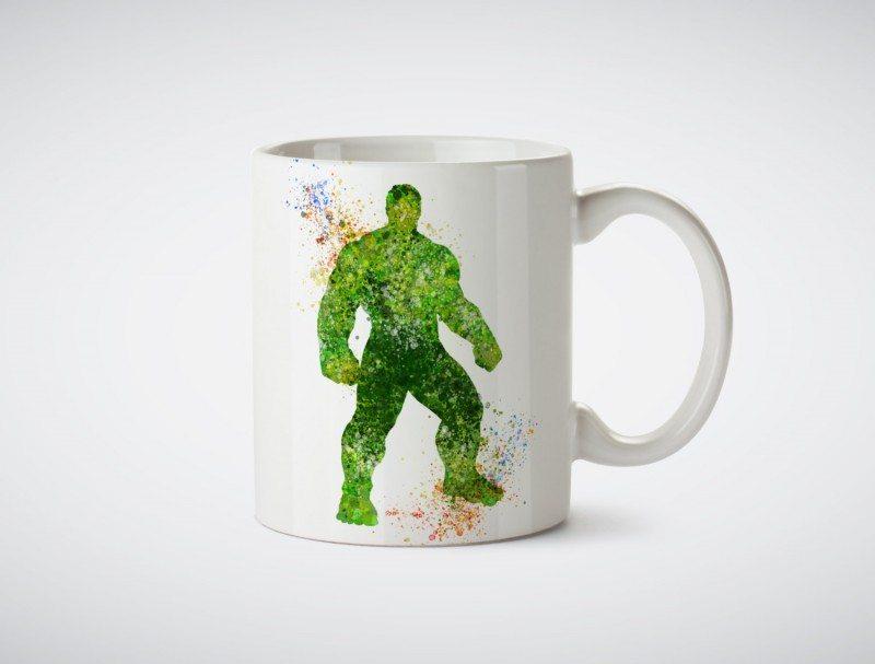 Watercolor Hulk