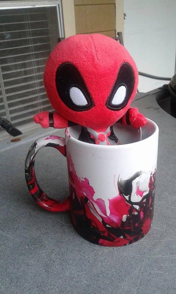 Deadpool Explosion Mug