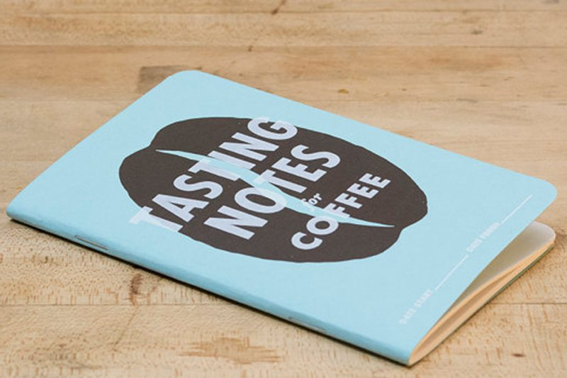 Coffee Tasting Notes Mini Book