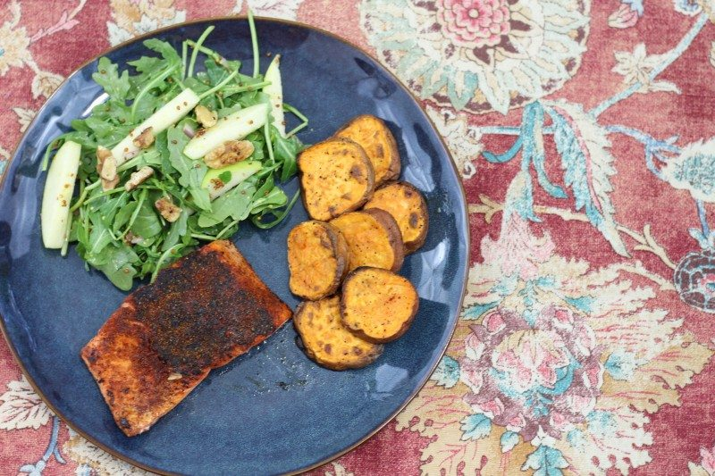 bbq spiced salmon sweet potato rounds final 2