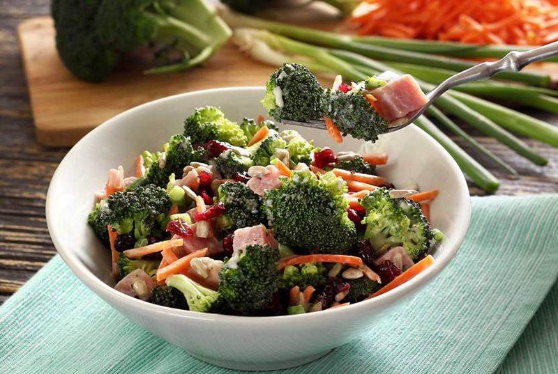 Paleo Broccoli & Ham Salad