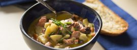 Quick & Hearty Salmon Chowder