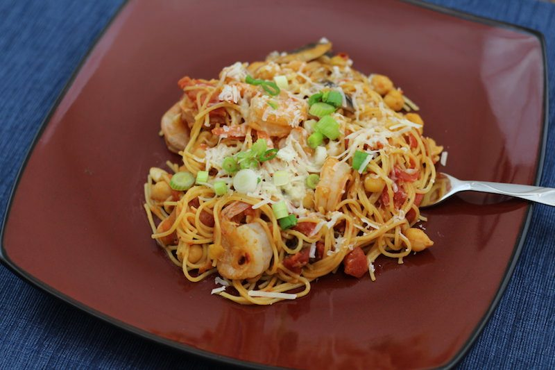 Shrimp and Chickpea Pasta final 6