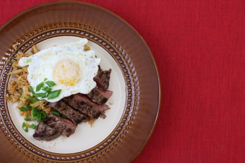 Steak Eggs 1