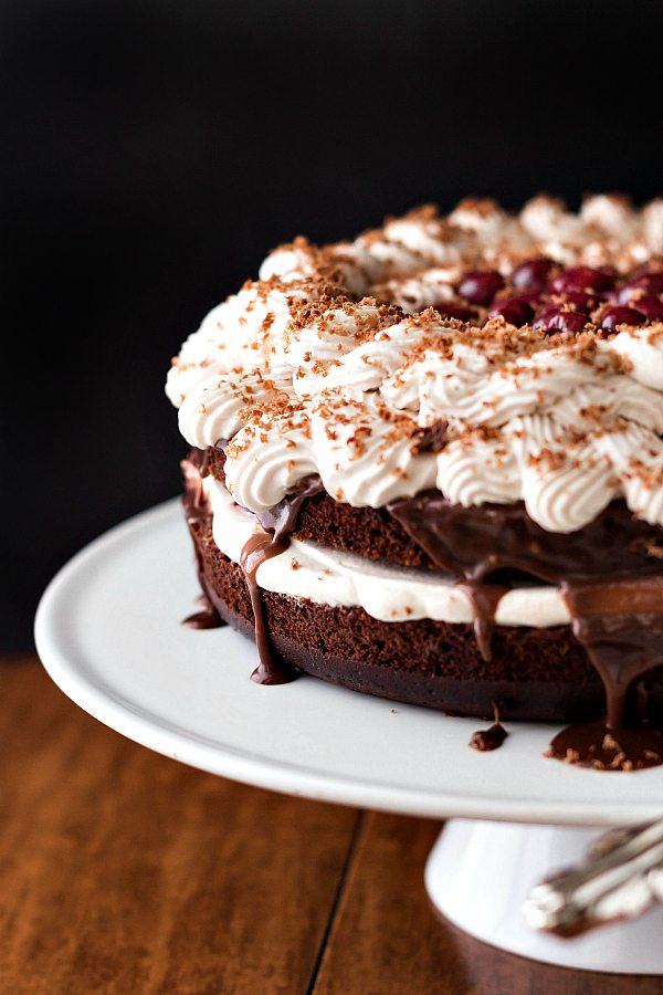 Fudgy Black Forest Cake