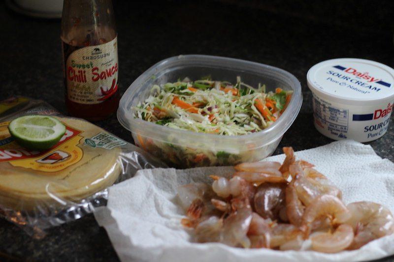 crispy shrimp tacos ingredients
