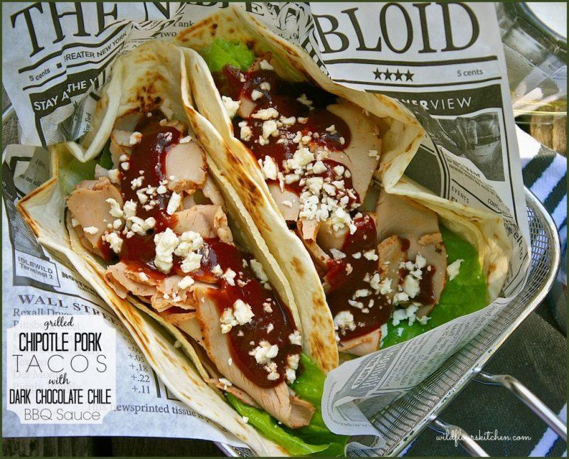 Chipotle Pork Tenderloin Tacos