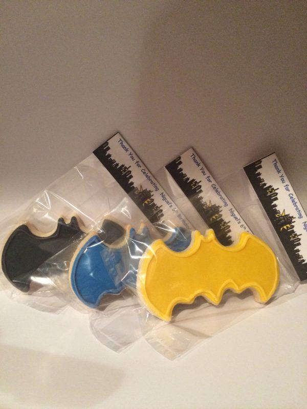 Multicolored Batman Symbols