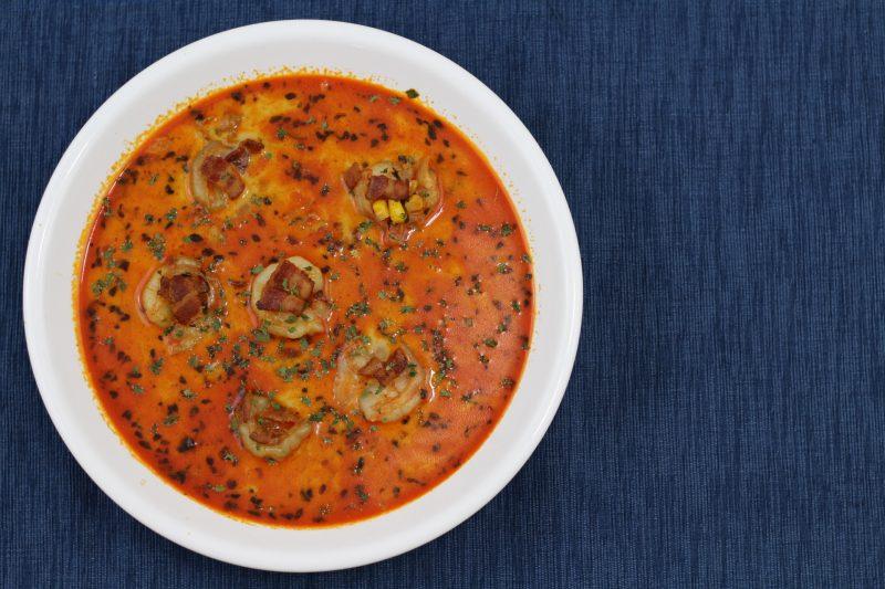 shrimp corn chowder 1