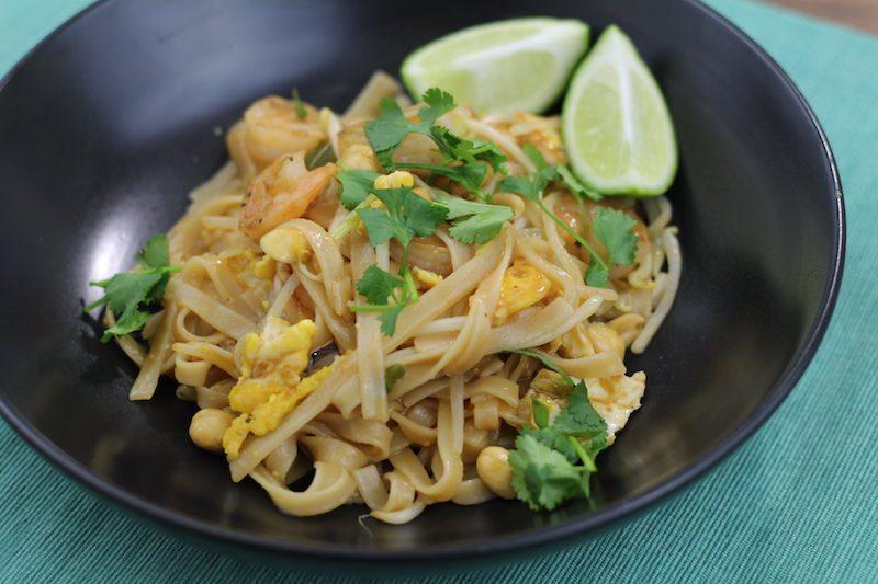 shrimp pad thai cooking final 4