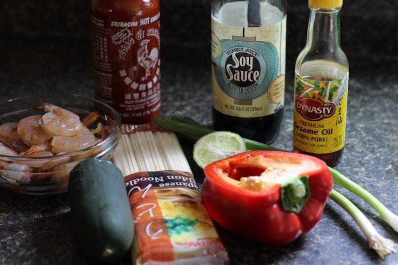 sriracha shrimp ingredients