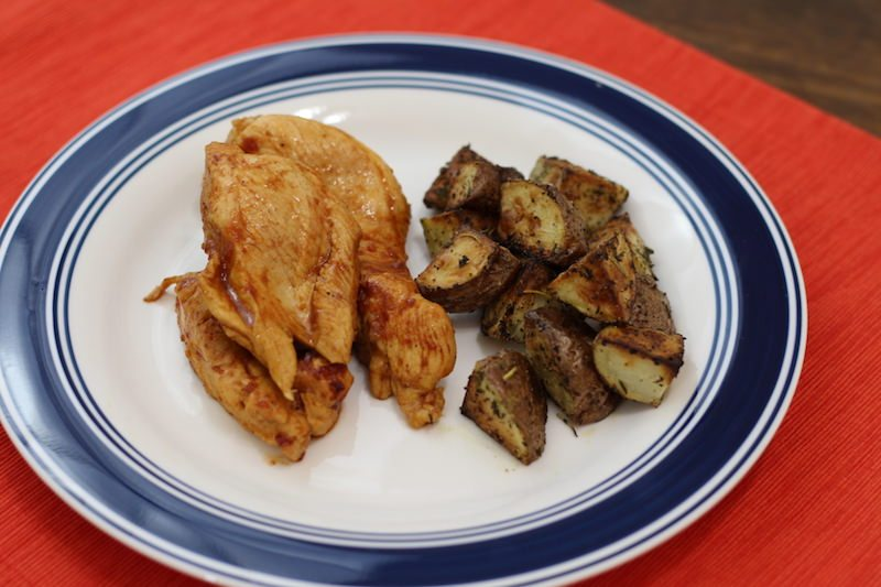 Coca Cola Chicken with Potatoes final 1