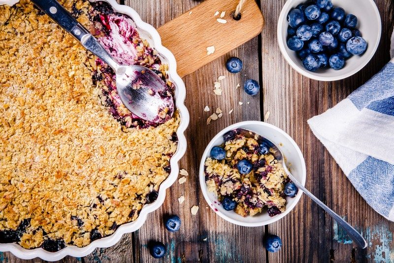 Fruit Crisp and Crumble Recipes for Vegan Dessert