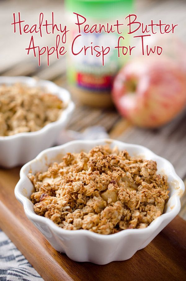 Peanut Butter Apple Crisp