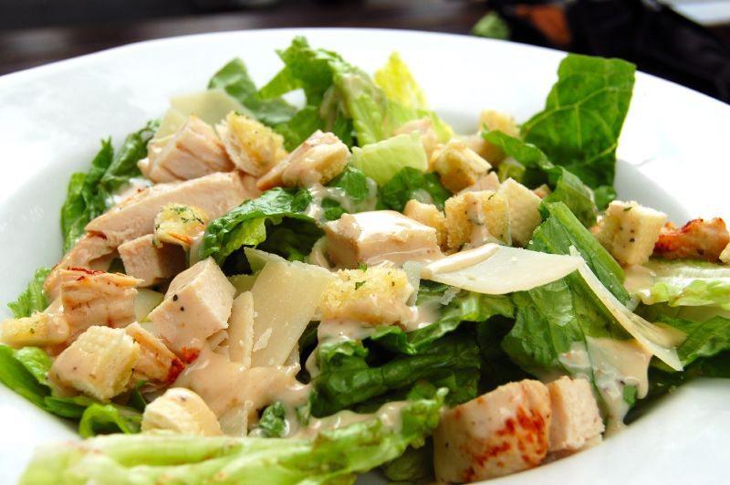 Paleo Chicken Caesar Salad