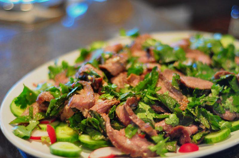 Paleo Thai Beef Salad