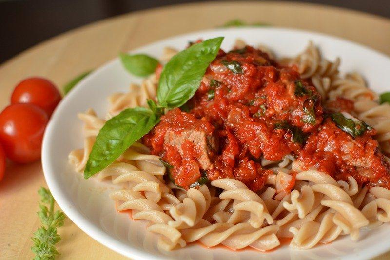 Wholegrain pasta with beef final 4