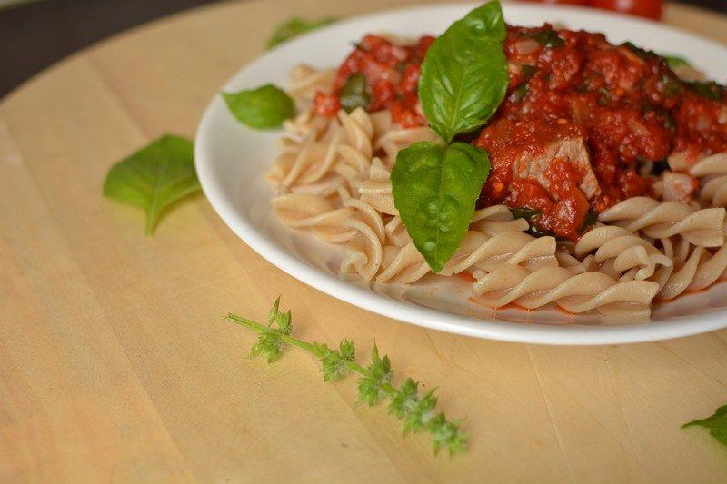 Wholegrain pasta with beef final 5