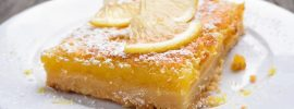29 Lemony Vegan Desserts For You To Try