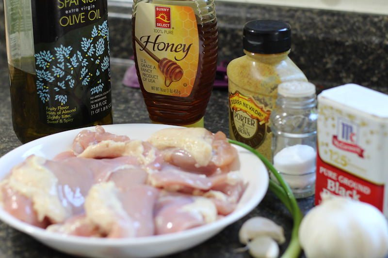 honey dijon garlic chicken ingredients