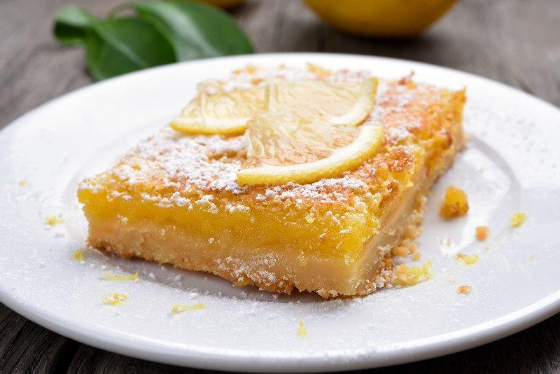 lemon vegan desserts